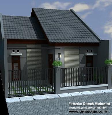 Design Tampak Depan Rumah Minimalis 2 Lantai Realis Desain Eksterior