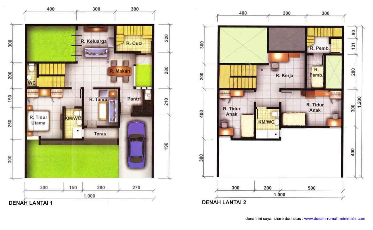 Design Rumah Minimalis Luas Tanah 60 M2 Rumah Minimalis
