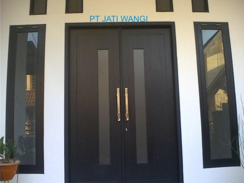 Pintu Rumah Kayu Minimalis Rumah Minimalis Realis